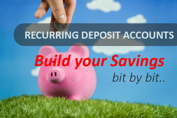 what is recurring deposit account The recurring deposit can be funded by standing instructions which are the instructions by the customer to the bank to withdraw a certain sum of money from his savings/ current account and.